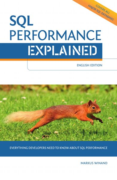 SQL Performance Explained cover