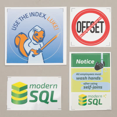 Use The Index, Luke, NoOffset and modern Stickers