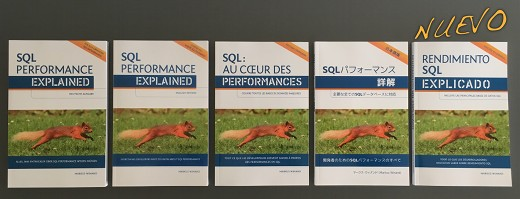"The book ""SQL Performance Explained"" and its translations"